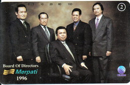 INDONESIA INDONESIEN  INDONESIE - IND P 497 -P498  MERPATI Board Of Directors - 1000ex.- MINT RRR - Indonesia