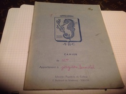 Hippocampe ABC Cahier Librairie Papeterie Du Collège Toulon - Animals