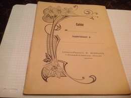 Cahier Librairie Papeterie  Toulon Cahier Journalier 1953 1954 - Animals