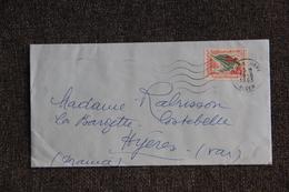 Lettre D'ALGERIE ( ALGER) Vers FRANCE - Algérie (1962-...)