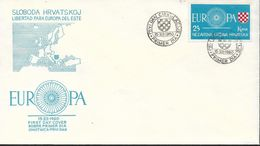 1960 Kroatien Livertad Para EUROPA Del Este - Europa-CEPT