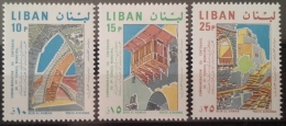 R1 - Lebanon 1968 Mi. 1075-1077 MNH - Municipality Of Deir El Kamar - Lebanon