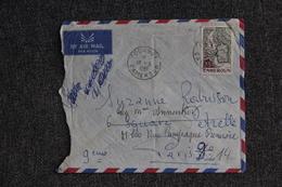 Lettre Du CAMEROUN ( FOUMBOT) Vers FRANCE - Camerun (1960-...)
