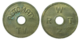 03170 GETTONE TOKEN JETON CEKA REPUBLIC AMUSEMENT GAMING AUTOMATY TV WRTZ - Tokens & Medals