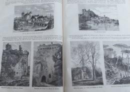 Journal Des Voyages 1878N°100:  CHATEAU DE CLISSON - Newspapers