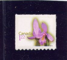CANADA  2010, # 2363, ROSE POGONIA. Single From Booklet - Carnets