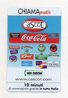 Telecom - Scheda Chiama Gratis - 2003 - CASCOT - 10 Minuti Di Conversazione Gratuita - NUOVA -(FDC7783) - Italy