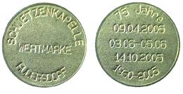 00282 GETTONE TOKEN JETON WERTMARKE SCHUETZENKAPELLE RUDERSDORF - Allemagne