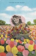 Michigan Holland Tulip Time Beautiful Girl 1954 - Other