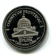 1998 County Of Frontenac Two Dollar Commemorative Token - Canada