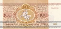 Belarus #8, 100 Rublei, UNC Banknote 1992 - Belarus