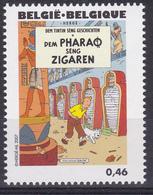 """BE 2007 - TINTIN - N° 3639 XX - Couverture De """"Les Cigares Du Pharaon"""" En Luxembourgeois - Cómics"""