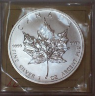Canada 5 Dollari 2012 Maple Leaf Oncia In Argento 9999 - Canada