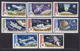 HONGRIE AERIENS N°  309 à 316 ** MNH Neufs Sans Charnière, TB (D4723) Cosmos, Découverte De L'espace - Airmail