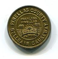 Pinellas County Transit Token - Monetary/Of Necessity