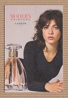 CC Carte Parfumée LANVIN Perfume Card JAPAN - Modern (from 1961)