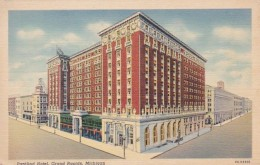 Michigan Grand Rapids Pantlind Hotel Curteich - Grand Rapids