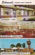 Michigan Grand Rapids & Kalamazoo Schensul's Cafeterias 1967 - Grand Rapids
