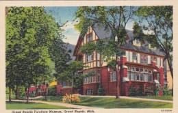 Michigan Grand Rapids Furniture Museum 1946 Curteich - Grand Rapids