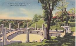 Michigan Grand Rapids Blythfield Club Swimming Pool 1948 - Grand Rapids