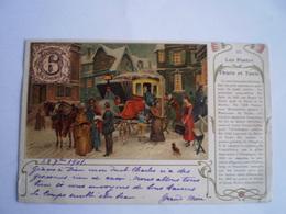 Llustration - LES POSTES DU THURN ET TAXIS - Kutze // Used 1901 - Regensburg
