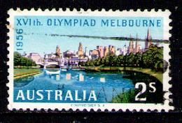 AUSTRALIA 1956 - From Set Used - 1952-65 Elizabeth II : Pre-Decimals