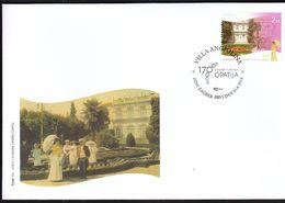 Croatia Zagreb 2014 / 170 Years Of Tourism In Opatija / Villa Angiolina / FDC - Kroatien
