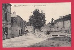 30 BELLEGARDE Fontaine Des Lions - Bellegarde