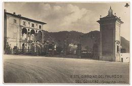 Rieti - Giardino Del Palazzo Del Governo - HP1076 - Rieti