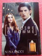MÉMOIRE D'HOMME DE NINA RICCI - Perfume Cards