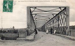 CPA LA CHAPELLE BASSE-MER - LE PONT DE MAUVES - La Chapelle Basse-Mer