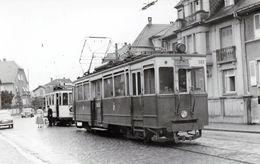 Strasbourg. Tramway Suburbain à Destination D'Ottrott à La Montagne Verte. Cliché Jacques Bazin. 27-09-1954 - Tram
