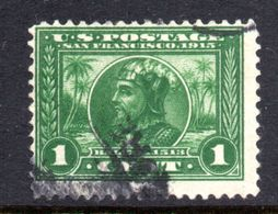 T1441 - STATI UNITI 1913 , 1 Cent  Usato N. 271 Dent 12. - Used Stamps