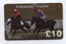 Falkland Islands - Prepaid - Horse Races - Falkland Islands