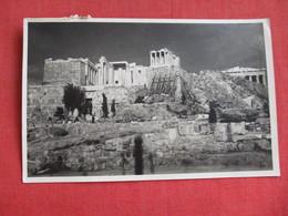 RPPC Acropole D' Athenes    RPPC Has Stamp  Greece    Ref 2819 - Greece