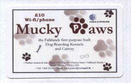 Falkland Islands - Prepaid - Mucky Paws - Falkland Islands