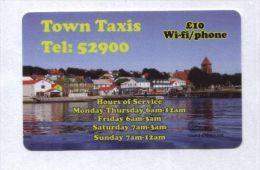 Falkland Islands - Prepaid - Town Taxis (small Folds) - Falkland Islands