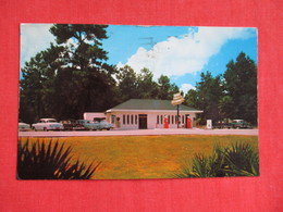 Gas Pumps At Suwannee Gables Restaurant  Old Town Florida Ref 2819 - United States