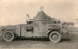 (53) CPA Photo Blindée Guerre Des Balkans Greco Turque  1922 Guerre Balkanique (Bon Etat) - Turquie