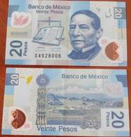 Mexico - 20 Pesos 2008 XF+ Lemberg-Zp - Mexique