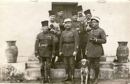 (53) CPA Photo Soldats Constantinople 1922 (Bon Etat) - Turquie