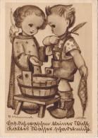 Carte Signée Hummel Circulée En 1922 - Hummel