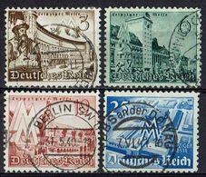 DR 1940 // Mi. 739/742 O - Deutschland