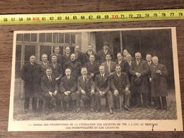 ANNEES 20/30 REMISE DES RECOMPENSES FEDERATION SOCIETES DE TIR A L ARC AU BERCEAU - Verzamelingen
