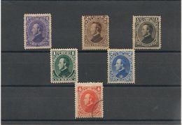 HONDURAS Année 1878 Effigie Du Président Francisco Morazan N°Y/T : 14/19 (*) - Honduras