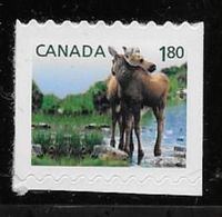 CANADA 2012, # 2512    BABY WILDLIFE: MOOSE   Single From Booklet Mnh - Booklets