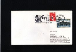 France 1979 Space / Raumfahrt  Kourou Launching  Ariane Rocket Interesting Cover - Briefe U. Dokumente