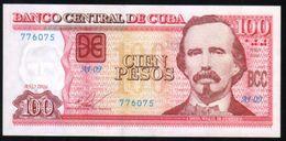 Caribe / 100 PESOS 2016  Serie AJ-09 776075 PICK NEW UNC - Cuba