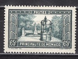 MONACO 1933 / 1937 -  Y.T. N° 124  -  NEUFS* - Monaco