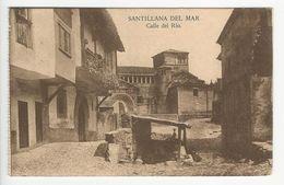 Santillana Del Mar * Calle Del Río - Cantabria (Santander)
